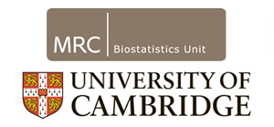 MRC Biostatistics Unit and University of Cambridge logo