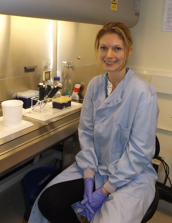 Caroline Williams-Gray, clinical lecturer and junior research group leader