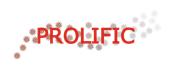 Prolific study logo