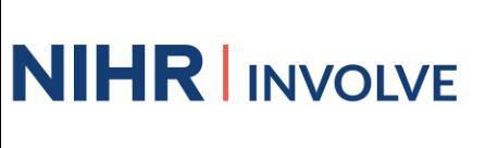 NIHR INVOLVE logo